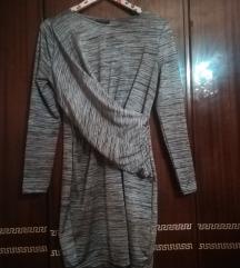 Top Shop pencil siva haljina