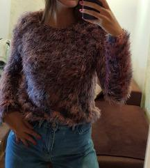 topshop čupavi džemper