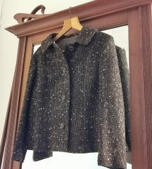 Vintage smeđi kaputić