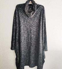 IMAGE HADDAD nova siva haljina(L/XL)