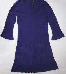 H&M ljubičasta haljina