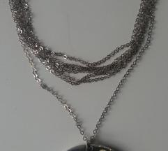 Unikatna srebrna ogrlica