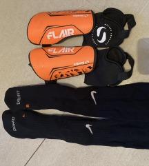 Nike štucne 43-45 i stitnici S