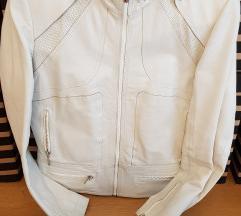 Kozna jakna bijela