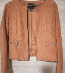 Amisu jaknica, imitacija brušene kože