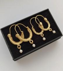 LOT tradicijskih naušnica (zlatne)