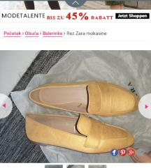 AKCIJAAA Zara-prava koza- realni 40 broj