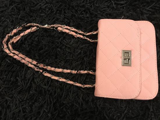 Roza mini torbica