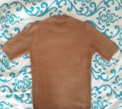 Smeđa ljetna majica
