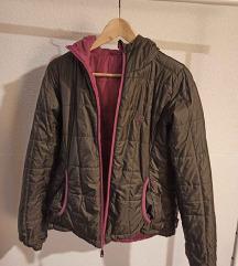 Jesenska jakna, nepropusna, dva lica - pošt uklj
