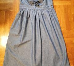 Zara denim midi haljinica