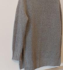 Zara knit vesta s prorezima