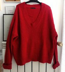 Zara pleteni pulover