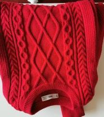 Mango crveni pulover