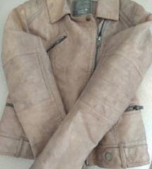 Kožna jakna za djevojčice 140/146%%