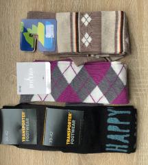 ❗️3+1❗️ Dokoljenke i čarape (39-42)