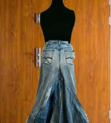 Ručni redizajn suknja traper