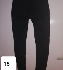 Crne hlače/Kožni uzorak