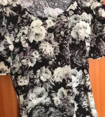 Crna cvjetna majica (S/M)