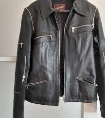 kratka kožna jakna
