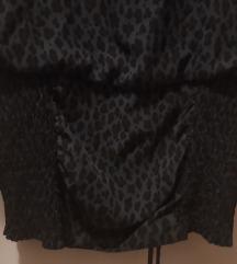 Mini haljina s leopard uzorkom