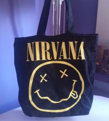 Nirvana torba crna