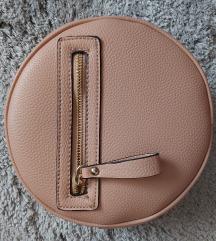 roza okrugla torbica