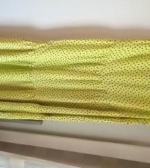Mango točkasta haljina L NOVO %%