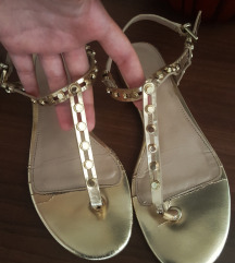 ALDO zlatne sandale
