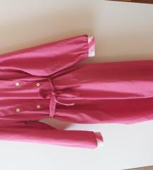 Roza haljina za djevojcicu 12 godina