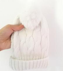 Zimska bijela kapa