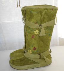 SHOE - BE- DO odlične zelene čizme br.38