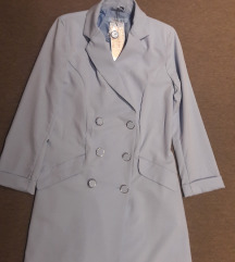 Baby blue NOVA s etiketom sako haljina