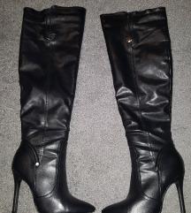 Sexy visoke čizme do malo iznad koljena