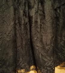 Čipkana mini suknja