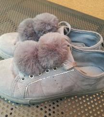Sive slatke cipele + crne na poklon!