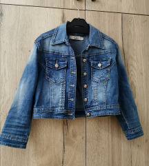 Jeans ženska jakna