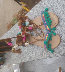 Boho stil sandale