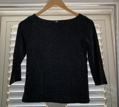 Crno srebrena majica, prodaja/zamjena, S