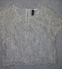 H&M čipkana majica S/M