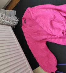 Predivan rozi kardigan za uplate danas i sutra