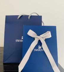 Rezervirano 3 Swarovski ukrasne poklon vrećice