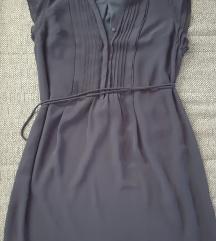H&M tamno plava haljina