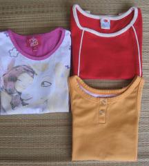 Tri majice vel.104