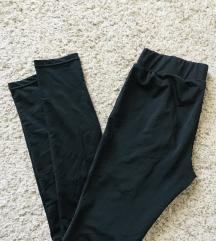 Crne mesh leggings tajice vel S-M