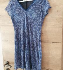 H&M modra haljina