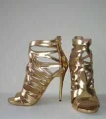 Zlatne sandale Aldo