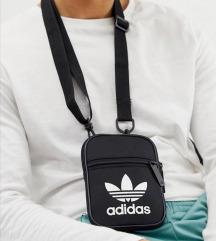 Adidas flight bag crna torbica unisex novo
