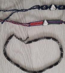 Lot narukvice i ogrlica