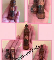 Drvena bočica za parfem-40's/50's